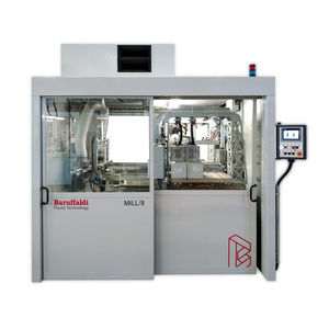 PVC CNC milling machine / 3-axis / vertical / for profiles