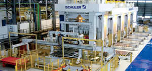 mechanical press line