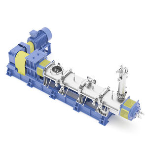 high-viscosity material kneader / dynamic / continuous / for the chemical industry