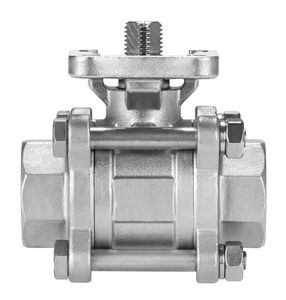 floating ball valve / manual / electric / pneumatic