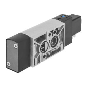 spool pneumatic directional control valve / pneumatically-operated / solenoid-operated / pilot-operated