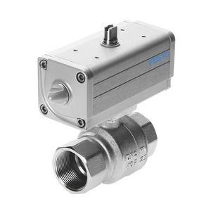 pneumatic ball valve actuator unit / 90° / double-acting
