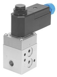 solenoid-operated pneumatic directional control valve / 3/2-way / 5/2-way / aluminum