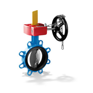 butterfly valve / manual / for water / lug type