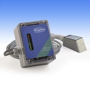 Doppler ultrasonic flow switch / for water / for oil / for chemicals