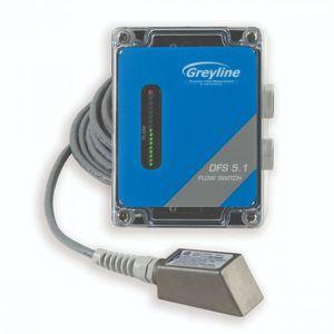Doppler ultrasonic flow switch