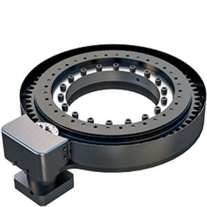 rotary indexing ring / belt-drive / for stepper motors