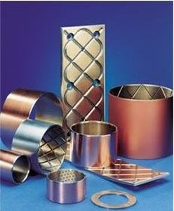 steel plain bearing / self-lubricating / thin-walled