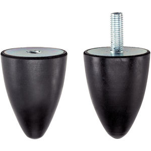 rubber stop / conical