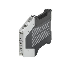 DIN rail signal conditioner / for potentiometers / for sensors / for displacement sensors
