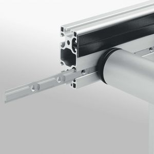 aluminum profile / zinc-plated steel / stainless steel / grooved
