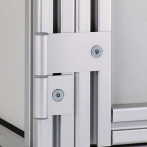 aluminum hinge / 270° / adjustable / small