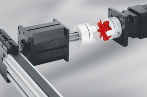 rigid coupling / torsionally rigid / shaft / motor