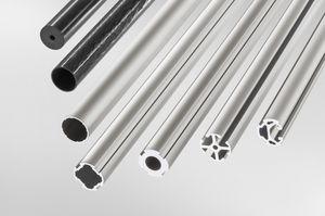 aluminum profile / round / tubular / 45°