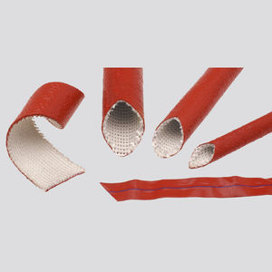 insulating sleeve / tubular / for cables / silicone
