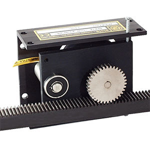 incremental linear encoder / rack-and-pinion / stainless steel / aluminum