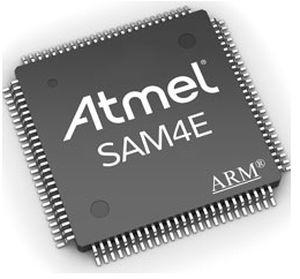 32-bit microcontroller - SAM4E series - Atmel - general purpose / analog /  ARM