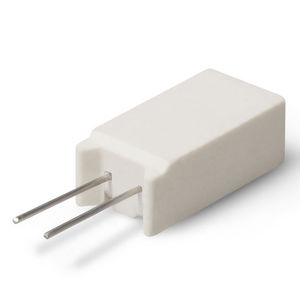 power resistor / wire-wound / radial-lead / ceramic-housed