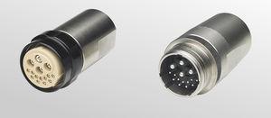 RF connector / DIN / circular / screw-in
