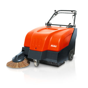 walk-behind suction sweeper