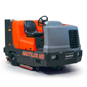 ride-on sweeper-scrubber-dryer