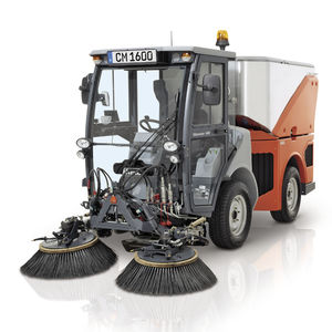 street sweeper / diesel / multi-function / compact