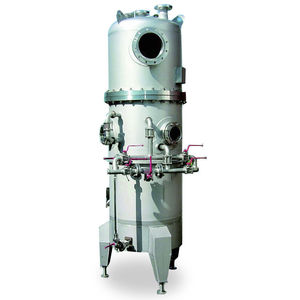 industrial decanter / lamellar / vertical / 3-phase