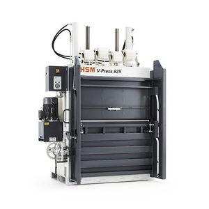 vertical baling press