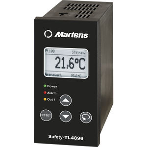 process monitoring temperature limiter / with LCD display / programmable / multi-channel