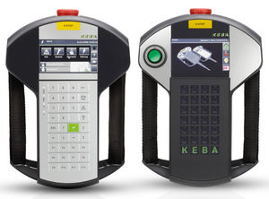operator terminal with keyboard