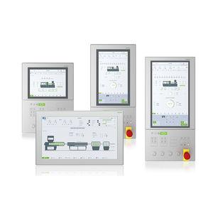 multitouch screen HMI