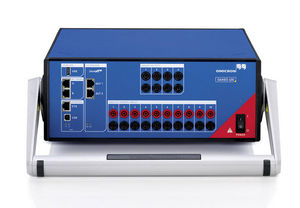communication network analyzer / for electrical networks / voltage / benchtop