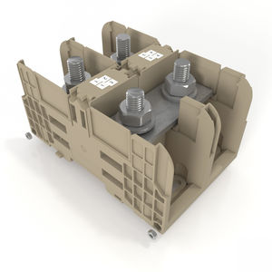 stud terminal block / DIN rail-mounted / power / high-current