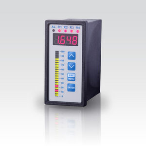 process indicator / with bar graph display / panel-mount / analog output