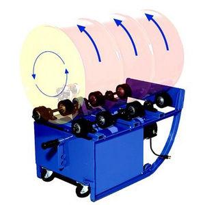 rotary drum mixer / batch / for liquids / mobile