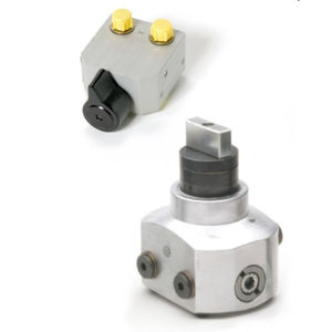 poppet hydraulic directional control valve / hydraulically-operated