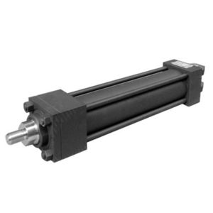 hydraulic cylinder / double-acting / compact / industrial