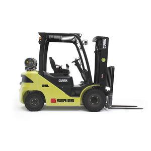 LPG forklift / diesel / ride-on / 4-wheel