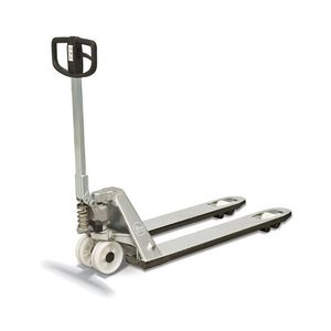 hand pallet truck / multifunction / stainless steel / for corrosive environments