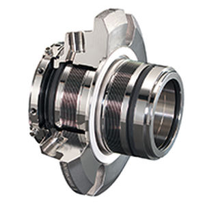 dual-cartridge mechanical seal / bellows / for pumps / for shafts