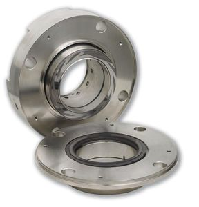 dual-cartridge mechanical seal / for pumps / gas-lubricated