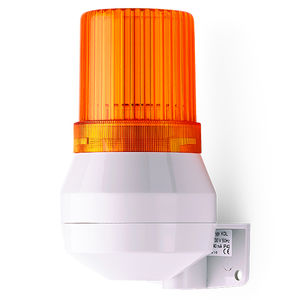 fire warning horn / with LED beacon / IP43
