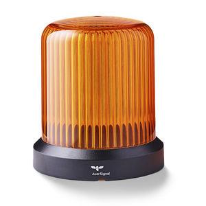 Fast Fit Masgnet Amber Flashing Revolving Orange Beacon Light Rotating 12V