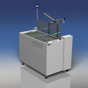 printed circuit board unloading system