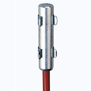 semiconductor PTC resistance heater / round / aluminum / for electrical cabinets