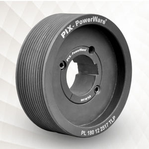 ribbed belt pulley