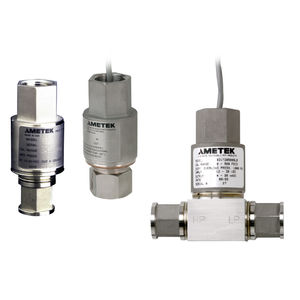 differential pressure transmitter / analog / stainless steel / fixed-range