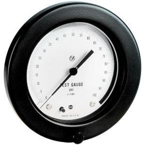 dial pressure gauge / Bourdon tube / for vacuum / laboratory