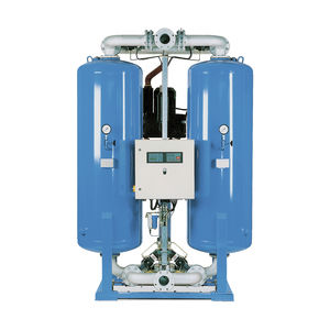 adsorption compressed air dryer / externally heated