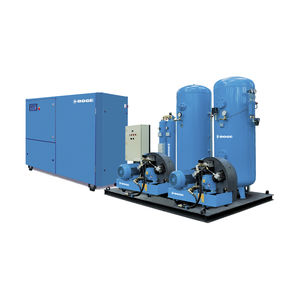 air compressor unit / screw / oil-free